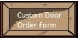 RH Order Form
