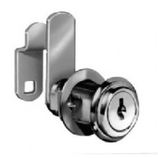 (NC8053-C390A-14A)  8053 Disc Tumbler Cylinder Cam Lock, Bright Nickel Key Alike