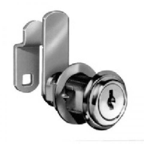 (NC8053-C390A-14A)  8053 Disc Tumbler Cylinder Cam Lock, Bright Nickel Key Alike  ** CALL STORE FOR AVAILABILITY AND TO PLACE ORDER **