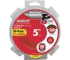 Diablo 5 in. 100-Grit Random Orbital Sanding Disc with StickFast Backing and Easy Pull Tabs (50-Pack)