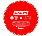 10 in. x 80 Tooth Ultra Finish Diablo Saw Blade
