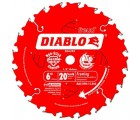 6 in. x 20 Tooth Diablo Saw Blade
