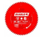 10 in. x 60 Tooth Fine Finish Diablo Saw Blade