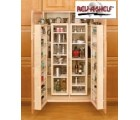 (4WP18-45-KIT)  57-in Wood Swing Out Pantry Kit
