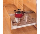 (5330-21CH)  Bottom/Side/Door Mount Pull-Out Shelf--Wire-Chrome