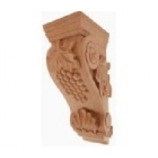"(LCCORBEL-G-2-RW)   5"" x 7"" x 14"" Medium Grape Corbel"