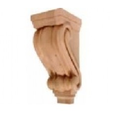 "(LCCORBEL-T-2-RW)  5"" x 7"" x 14"" Medium Traditional Corbel"