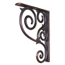 (MCOR1-DBAC) Metal (Iron) Scrolled Bar Bracket