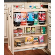 RV448-BC-05C Tier Pull-Out Organizer with Rails