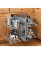 RV5PSP-15CR Rev-A-Shelf Pullout Wire Pull-Slide-Pull Blind Corner  ** CALL STORE FOR AVAILABILITY AND TO PLACE ORDER **