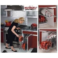 (RV5CW21222CR)  Rev-A-Shelf Two-Tier Cookware Organizer