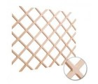 "24"" x 30"" Wine Lattice Rack with Bevel. Maple"