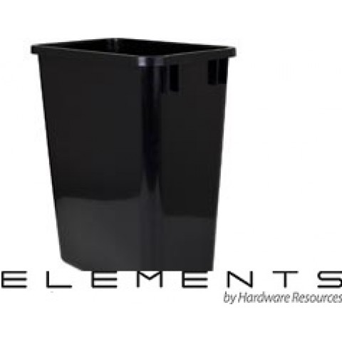 (CAN-35)  35-Quart Waste Container - Black  ** CALL STORE FOR AVAILABILITY AND TO PLACE ORDER **
