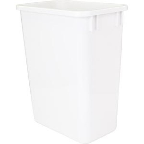 (CAN-35W)  35-Quart Waste Container - White  ** CALL STORE FOR AVAILABILITY AND TO PLACE ORDER **