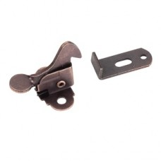 (EC01-DBAC) Dark Brushed Antique Copper- Elbow Catch with strike  ** CALL STORE FOR AVAILABILITY AND TO PLACE ORDER **
