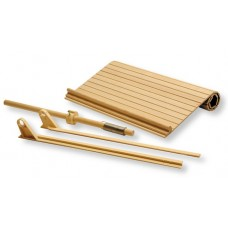 "(OMC02-SRO-3)   30"" Tambour Door Kit, Solid Wood"